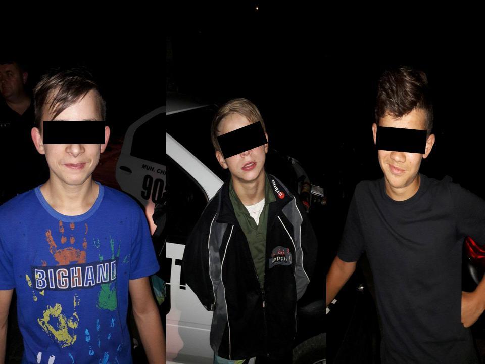 Трое несовершеннолетних угнали автомобиль у жителя Кишинева