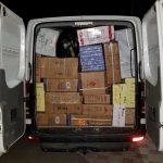 Патрульные инспекторы задержали водителя, перевозившего продукты сомнительного происхождения