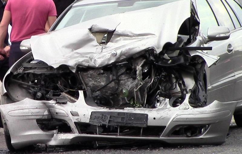 В Дубоссарах в результате серьезной аварии пострадали оба водителя (ФОТО)