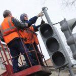 Поломка трёх столичных светофоров спровоцировала огромные пробки