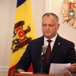 Додон: Подниму весь народ на защиту молдавского языка