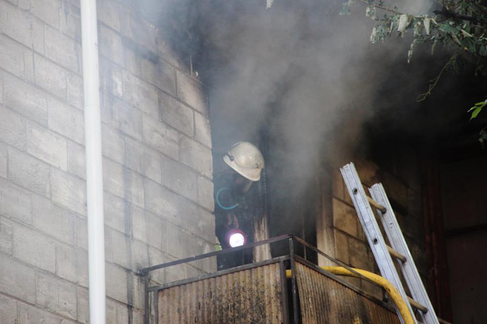 Установлена причина пожара, вспыхнувшего на прошлой неделе в жилом доме Кишинева