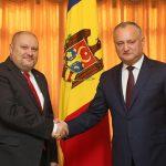 Президент провел прощальную встречу с послом Словакии в Молдове