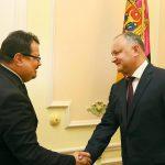 Додон после встречи с новым послом ЕС: Нынешняя власть больше не сможет заниматься манипуляциями