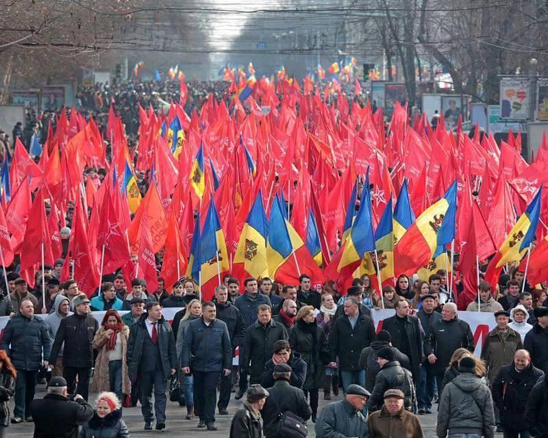ПСРМ проводит сегодня Общенациональный марш и митинг народного большинства