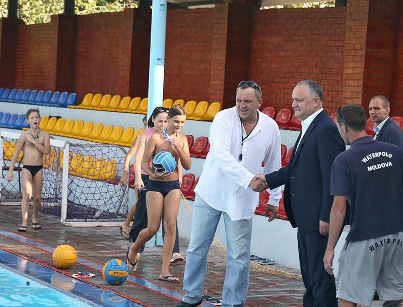 Глава государства намерен и впредь поддерживать проведение спортивных мероприятий в Молдове (ФОТО)