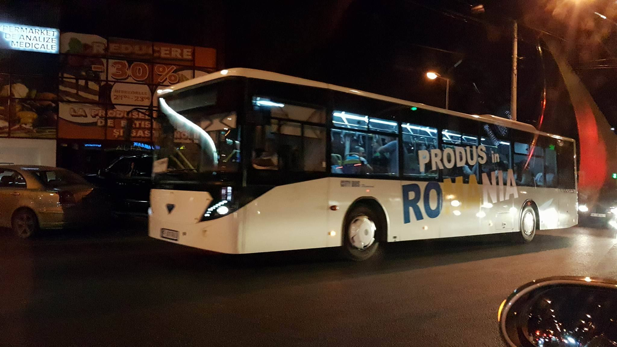 """Румыния """"пометила"""" автобусы в Кишиневе"""