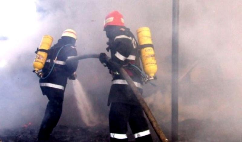 В Оргееве загорелся склад с соломой и древесными опилками (ВИДЕО)