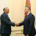 Президент обсудил вопросы внутренней и внешней политики с послом США