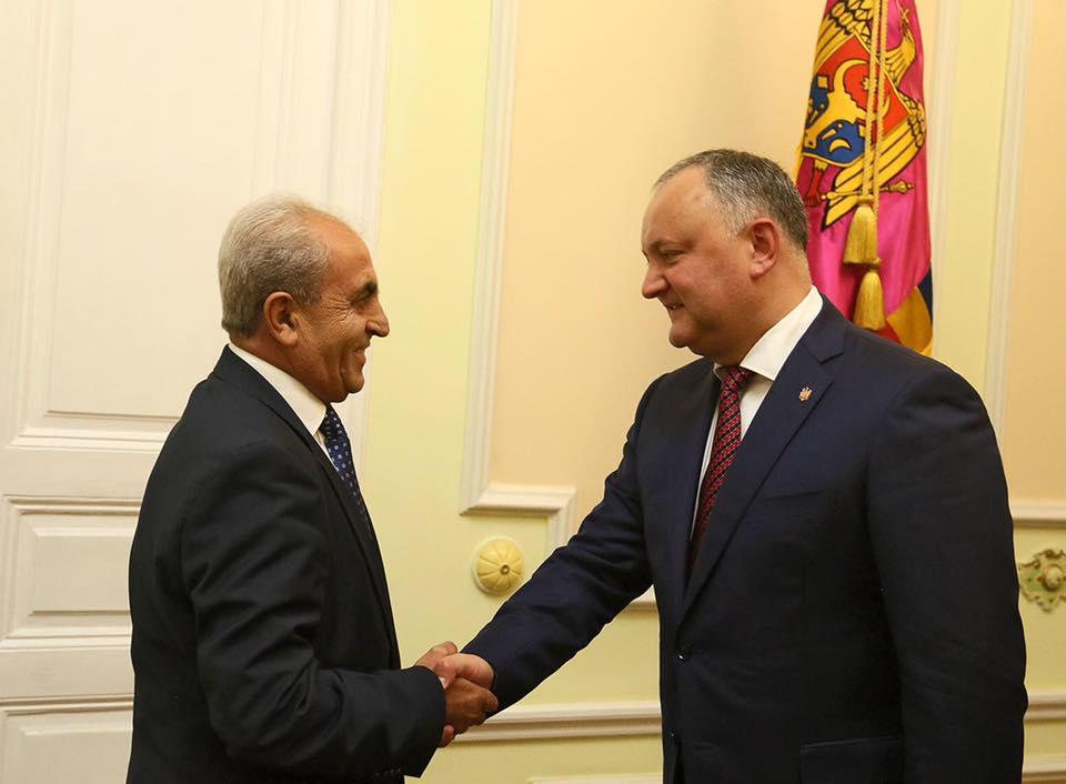 В ноябре Игорь Додон посетит с официальным визитом Армению