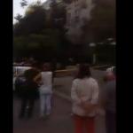 Из горящего дома в Кишиневе эвакуируют жильцов (ВИДЕО)