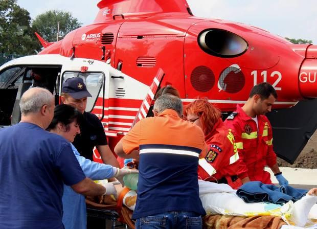 Сбитый автомобилем 15-летний мотоциклист впал в кому и доставлен в Кишинев (ФОТО)