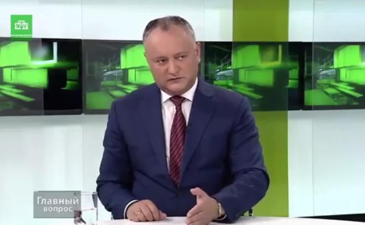Додон: Созову народ в Кишинев, чтобы поставить точку (ВИДЕО)