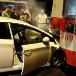 В воскресном ДТП с троллейбусом в Кишиневе пострадала женщина (ФОТО)