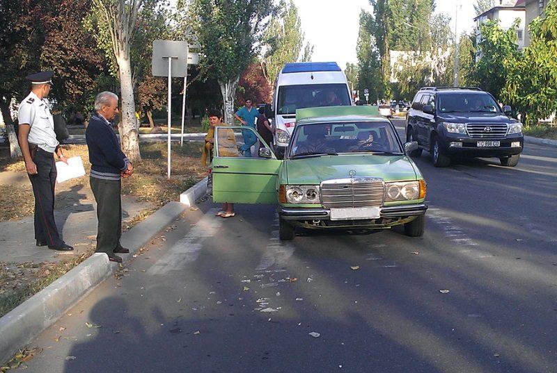 В Тирасполе пожилой мужчина отправил в больницу пешехода (ФОТО)