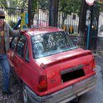 Пьяный житель Ставчен угнал автомобиль в столице (ВИДЕО)