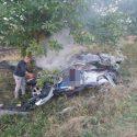 Три человека сгорели заживо в жутком ДТП в Штефан-Водэ (ФОТО)
