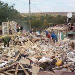 В Фэлештах от взрыва рухнул дом: под руинами может находиться 5-летняя девочка (ФОТО)