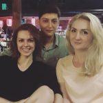 Дочь молдавского актера Лянка Грыу впервые увиделась в Кишиневе с сестрой и братом (ФОТО)