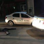 Несовершеннолетний устроил гонки по Оргееву на угнанном авто