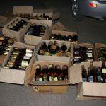В машине 19-летнего жителя Оргеева обнаружили 300 бутылок коньяка (ФОТО)
