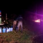 Молдаванин попытался переправить в Украину 200 литров алкоголя (ФОТО)