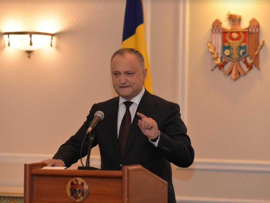 Додон: Ни при каких обстоятельствах не промульгирую законопроект о запрете российских передач в Молдове