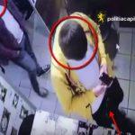 Кража Iphone 5 в столичном кафе попала на видео