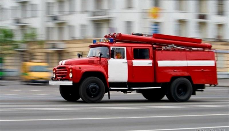 В Тирасполе сгорел дотла груженый мебелью грузовик