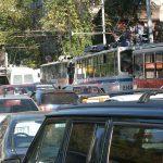 На нескольких улицах Кишинева образовались нешуточные пробки