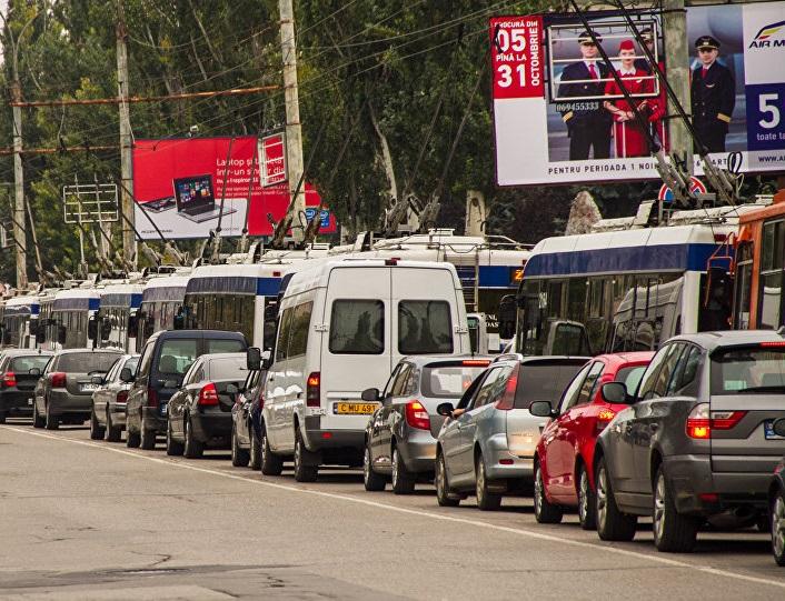 Социалисты предлагают найти срочные решения для борьбы с пробками в Кишиневе