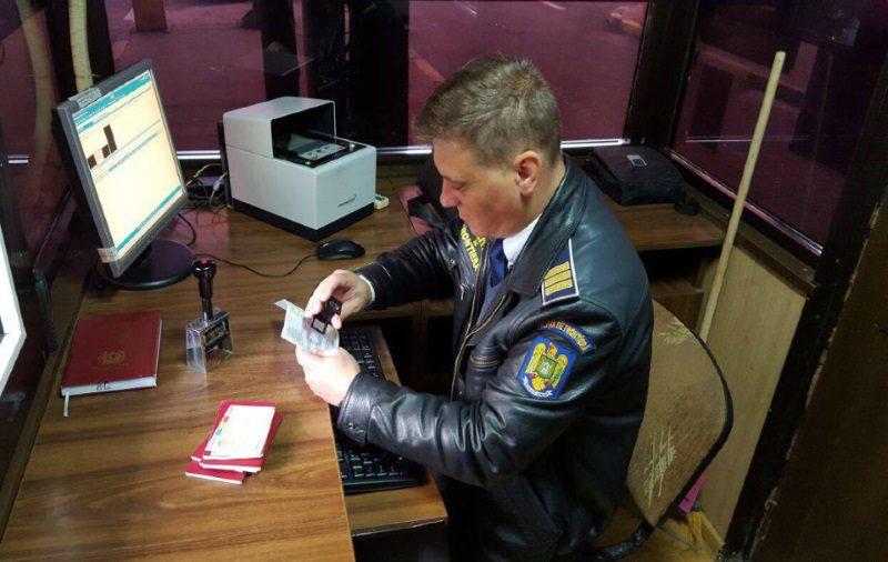 Пограничники задержали молдаванина с поддельным водительским удостоверением