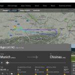 Самолёт Lufthansa рейса Мюнхен-Кишинёв был вынужден развернуться из-за неполадок (ФОТО)