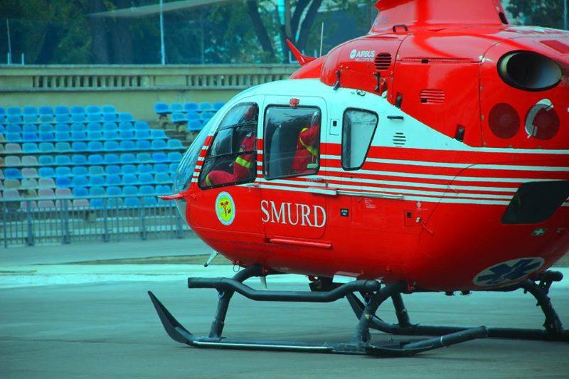 Медики SMURD доставили в Кишинев мужчину с желудочным кровотечением (ФОТО)