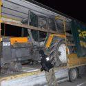 Молдаванка пыталась выехать из Польши на угнанном тракторе (ФОТО)