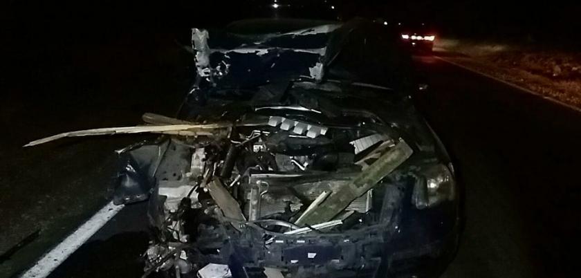 Управлявший телегой мужчина погиб после столкновения с автомобилем (ФОТО)