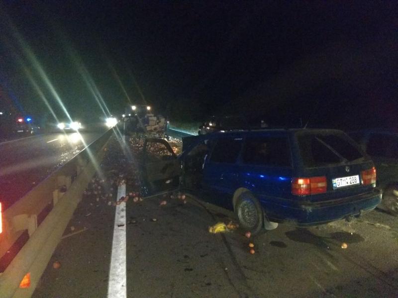 В столкновении машины с трактором серьезно пострадали четыре человека (ФОТО, ВИДЕО)