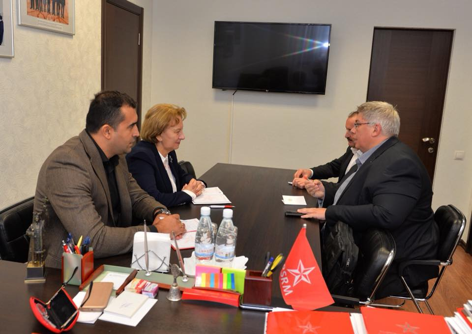 Зинаида Гречаный обсудила проблемы Молдовы с секретарем Австрийского объединения профсоюзов