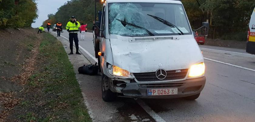 В Рышканском районе микроавтобус насмерть сбил мужчину (ФОТО)