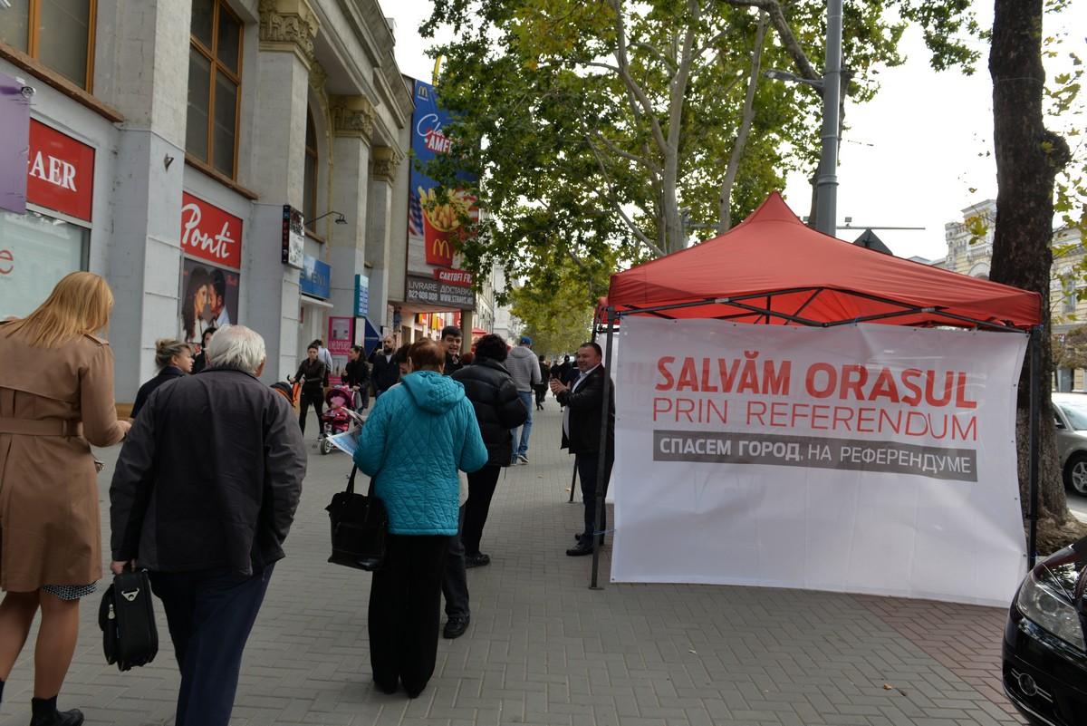 Партия социалистов дала старт кампании по продвижению референдума анти-Киртоакэ (ФОТО)