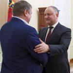 Додон на встрече с Хоржаном: Важно развивать диалог и укреплять доверие между двумя берегами Днестра