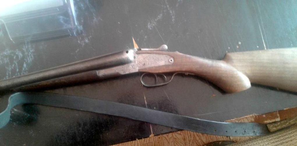 У сельского жителя изъяли ружье и запчасти к нему (ФОТО)