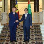 Додон: Молдова будет прилагать усилия для расширения торгово-экономических связей с Туркменистаном