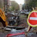 В Кишинёве одна улица будет недоступна водителям до середины июня