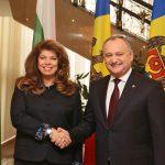 Додон назвал визит в Молдову вице-президента Болгарии историческим