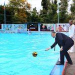 Впервые в Молдове под эгидой президента проходит Международный турнир по водному поло
