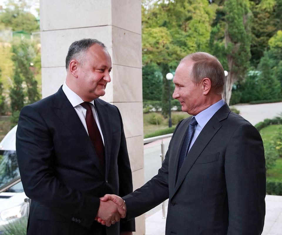 Путин – Додону: Мы высоко ценим и поддерживаем ваши усилия по нормализации российско-молдавских отношений (ВИДЕО)