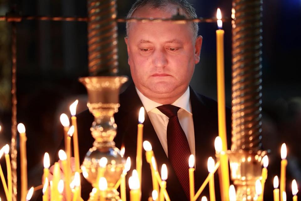 Игорь Додон пожелал, чтобы следующий Покров столица встретила с новым мэром