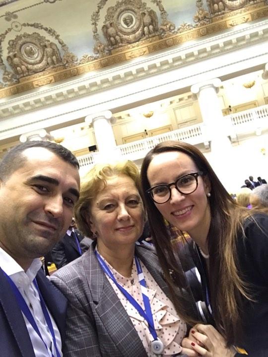 Зинаида Гречаный поздравила с назначением нового председателя МПС