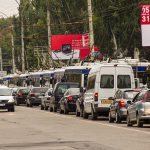 Топ-19 перекрестков столицы, на которых кишиневцы чаще всего стоят в пробках